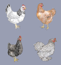 Load image into Gallery viewer, Happy Hens Fitted Leggings