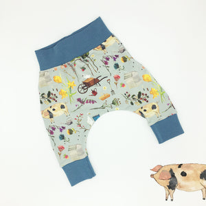 Farm Garden Harem Leggings