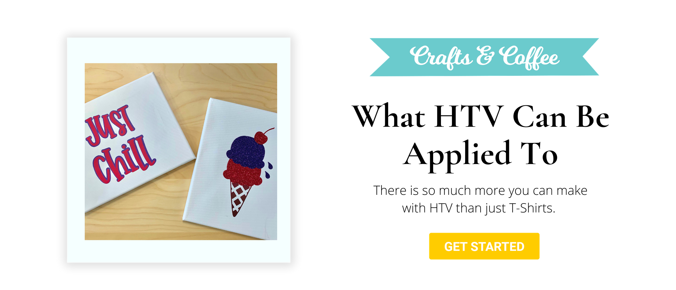 what can you apply htv to