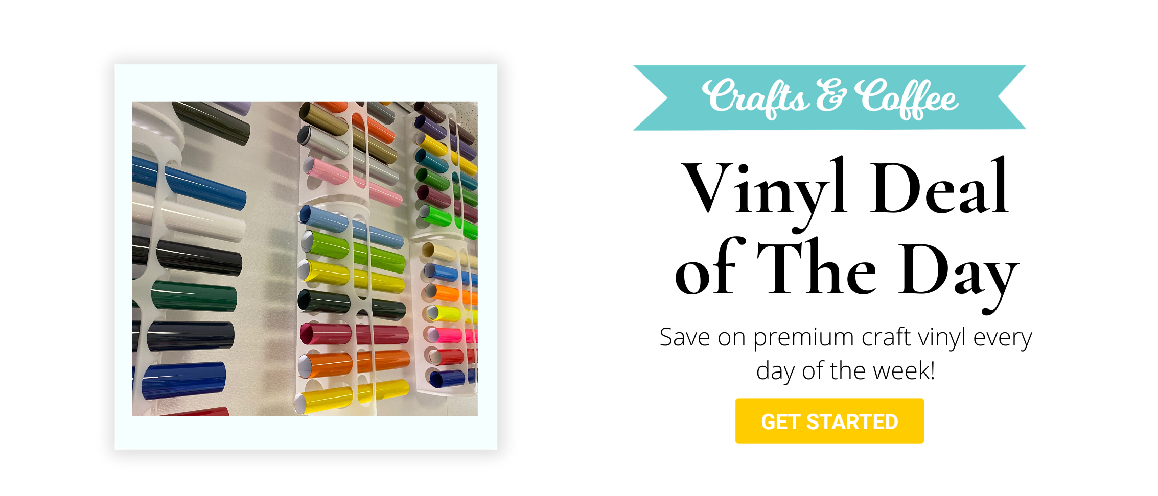 vinyl deals - save on premium HTV, 651, patterned & printable vinyl