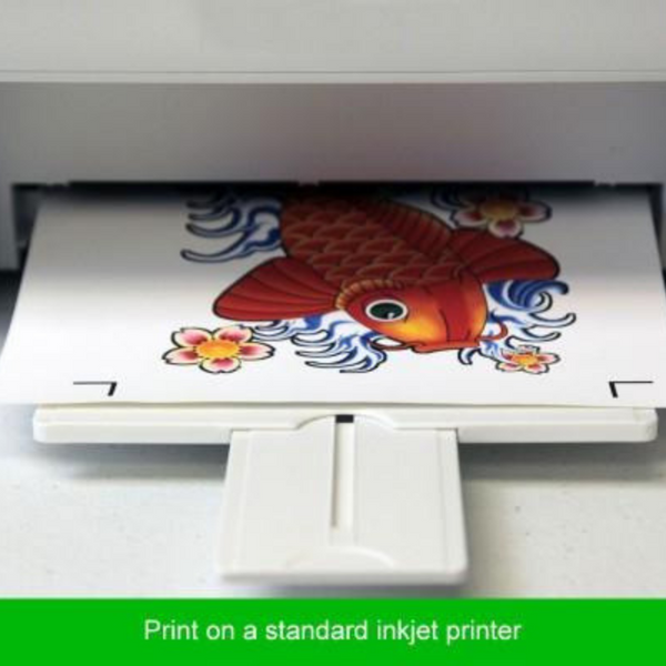 image about How to Use Printable Heat Transfer Vinyl titled Printable Warm Shift Vinyl Pack - 10 Rely