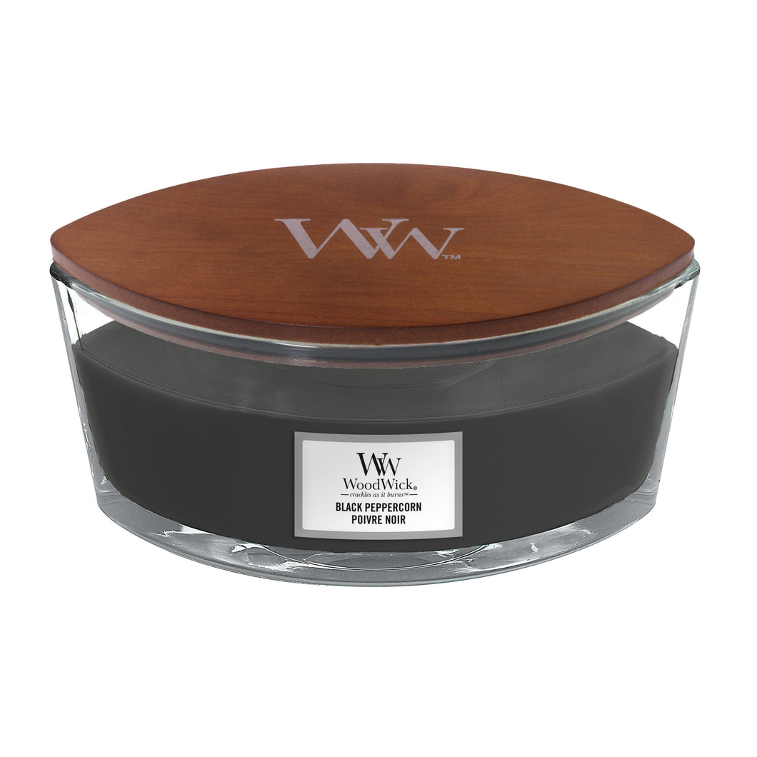WoodWick Black Peppercorn Ellipse Candle