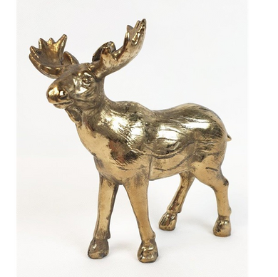 Mansion - Copper Deer 18X8X18.5cm