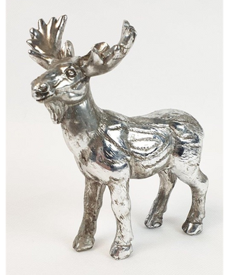 Mansion - Silver Deer 13.5X6.5X15cm