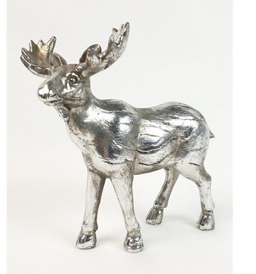 Mansion - Silver Deer 18X8X18.5cm
