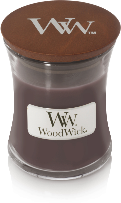 WoodWick Sueded Sandalwood Mini Candle