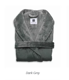 Cara Badjas Dark Grey