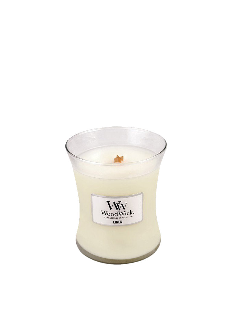 WoodWick Linen Medium