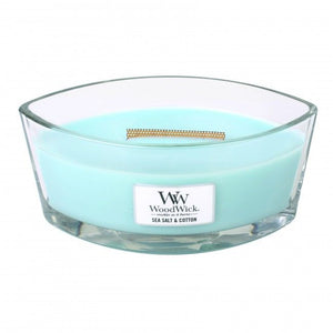 WoodWick Sea Salt and Cotton HearthWick Flame Ellipse