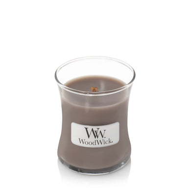 WoodWick - Black Amber & Citrus Mini Candle