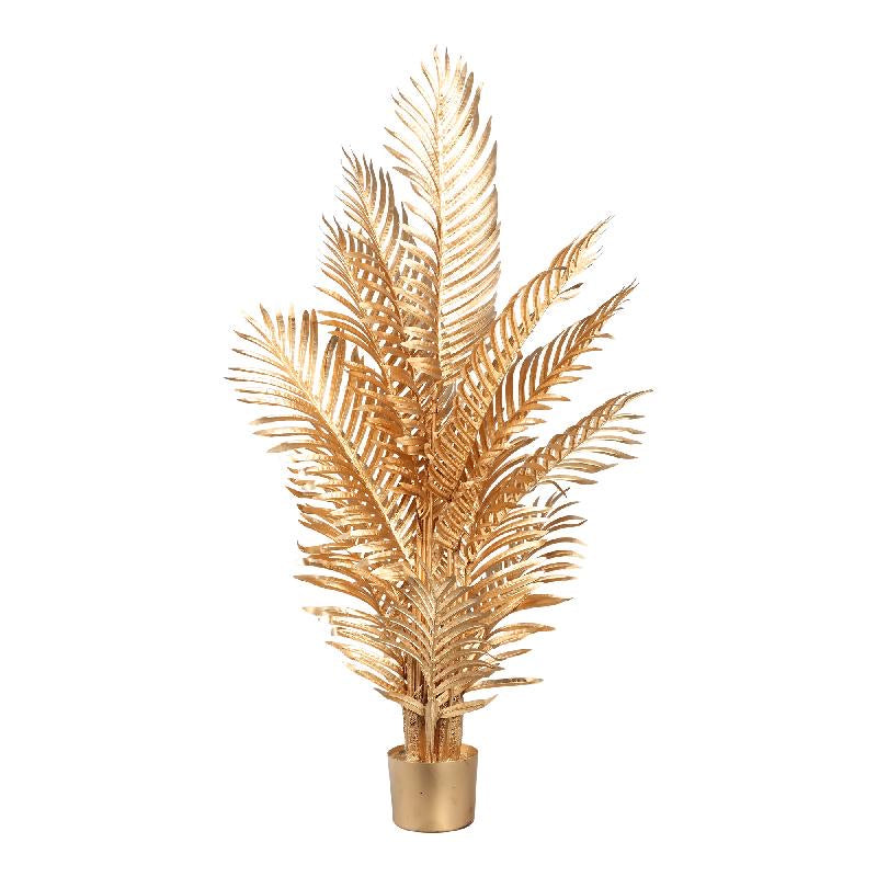 PTMD - tree Areca gold large palm leaves in pot