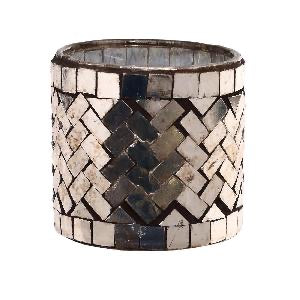 PTMD - Aleksi copper glass Mosaic Stormlight round S