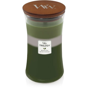 WoodWick Trilogy Mountain Trail Large Candle