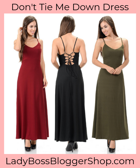 Backless Maxi Dress