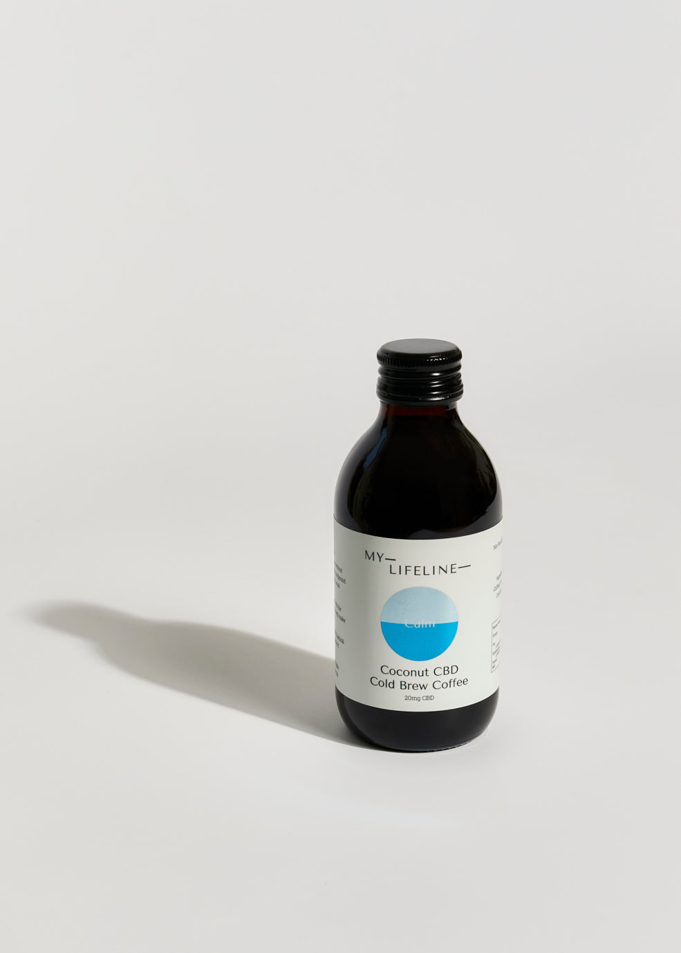 Coconut CBD cold brew coffee