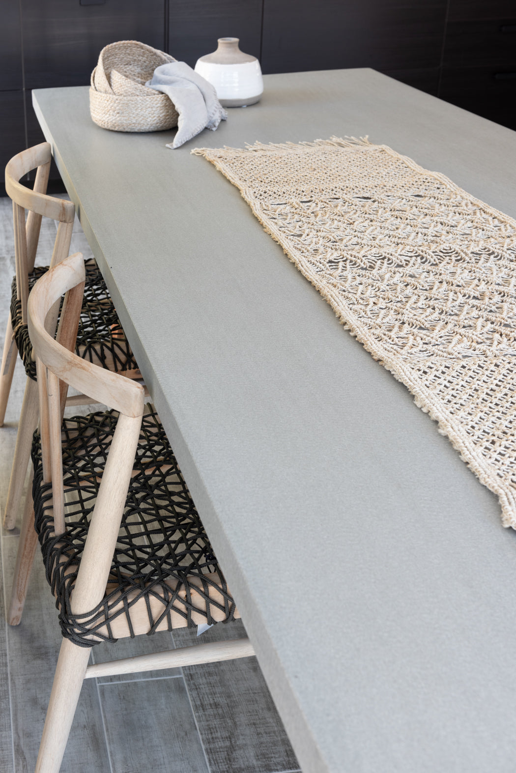 Macrame Hand Knotted Table Runner