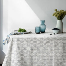 Enchanted ForestOrganic Cotton Tablecloth in Black