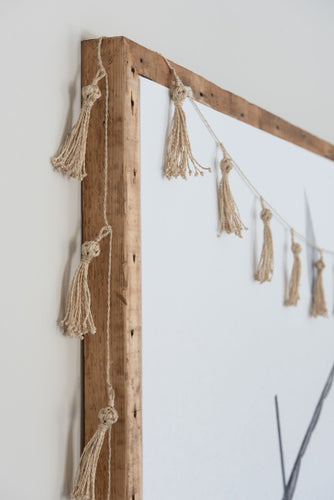 Tassel Garland Natural