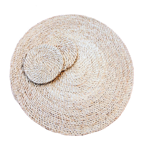 Our collection of eco-chic jute drink coasters look glorious on their own or with our selection of placemats. round natural coaster. round neutral coaster. neutral jute coaster.