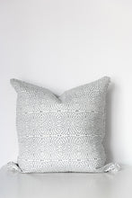 Diamond Dotty Organic Cotton Cushion in Black