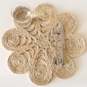 Shapla Jute Placemat - Medium