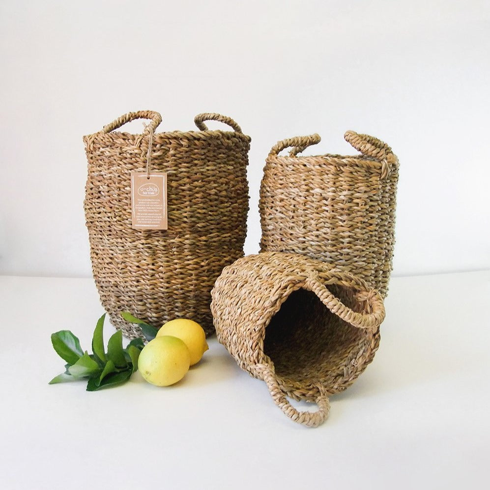 Tall Cup Basket - Set of 3