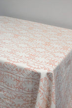 Enchanted Forest Organic Cotton Tablecloth in Ochre