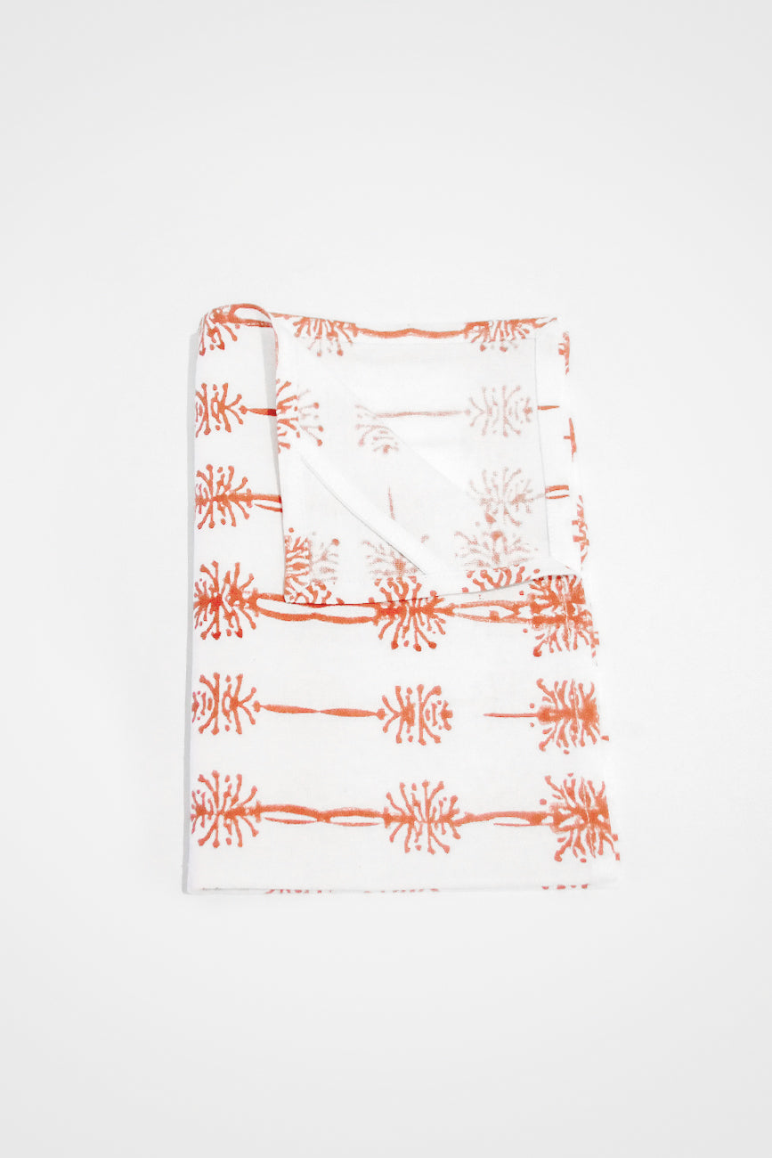 Wattle Organic Cotton Tea Towel in Ochre