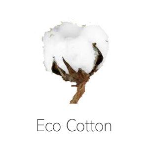 Eco Cotton White Tailored Quilt Cover