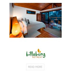 Billabong Eco Retreat use Ecodownunder Organic Bed and Bath Linen