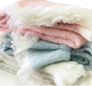 Super soft alpaca throws - check out our amazing range of colours for winter 2020