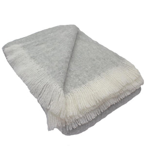 Alpaca Throw Koala Grey
