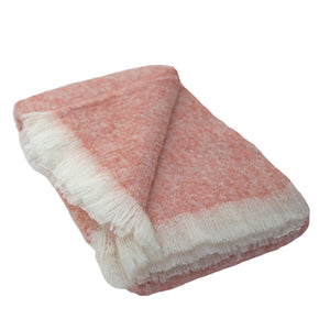 Alpaca Throw Bush Berry