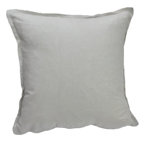 Cool Grey Linen Cushion Cover 40x40 | Ecodownunder