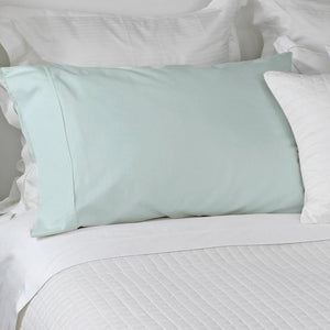 Eco Cotton Pillowcases Sea Glass