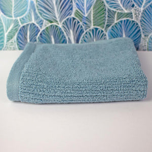 Whitehaven Ribbed Organic Cotton Face Washer