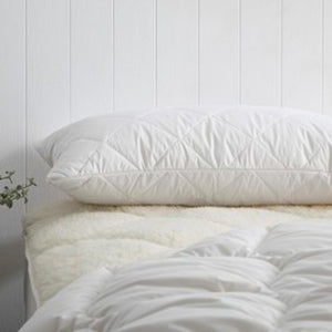 Australian Machine Washable Pillow Protectors, for Standard or King Size Pillow, all cotton | Ecodownunder