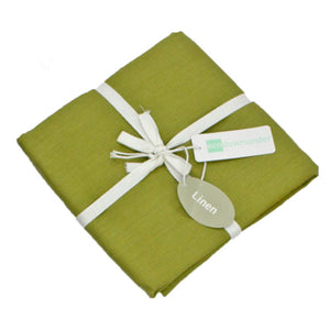 Moss Green Linen pillowcases in set of 2 for $39 | Ecodownunder