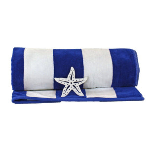 Cabana Organic Cotton Beach Towel