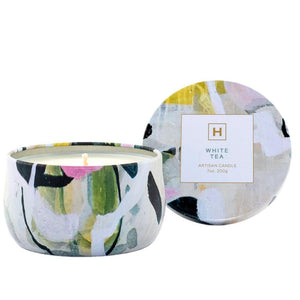 Candle in a Tin, White Tea | Ecodownunder