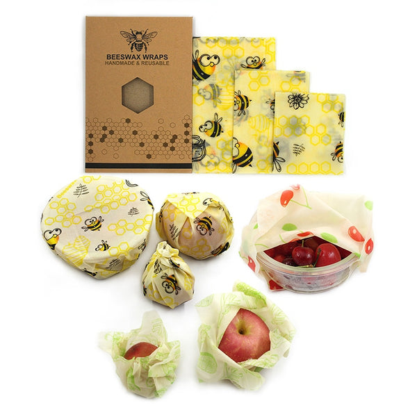 Beeswax Food Wrap | Reusable Beeswax Wrap-PRETTY NIFTY STORE