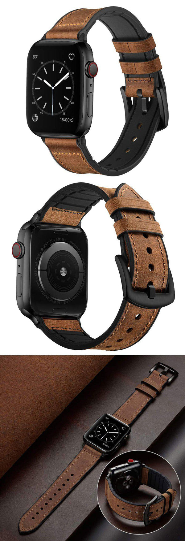 Apple Watch Straps | Premium Sleek Leather Band -PRETTY NIFTY STORE