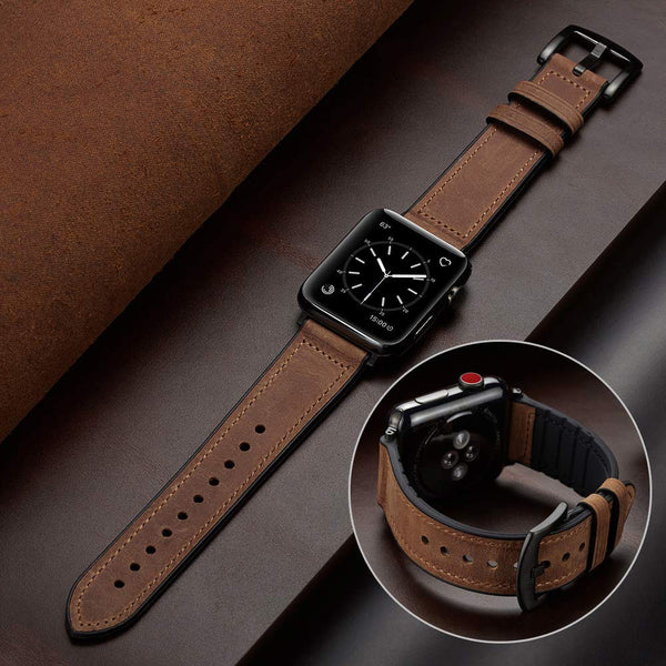 Premium Sleek Leather Band | Apple Watch Band
