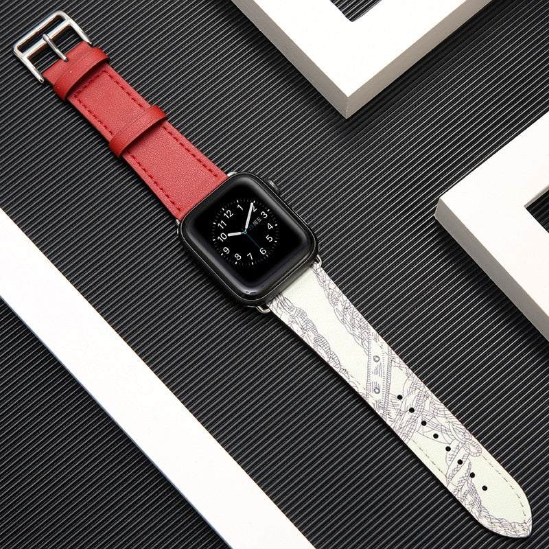 Apple Watch Straps | Custom Bohemian Art Leather Band-PRETTY NIFTY STORE