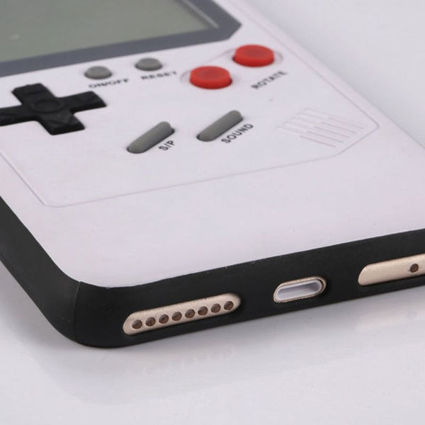 Silicone Tetris Emulator iPhone Case Series-MINIMAL BY DESIGN
