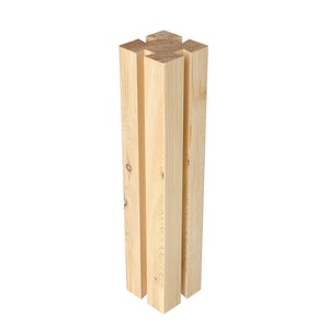 Premium Cedar Tall Post 12 in x 2.5 in x 2.5 in RCTP