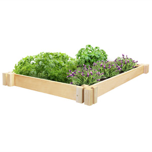 Cedar Herb Garden Bed 2 ft x 4 ft x 3.5 in RC2HG4