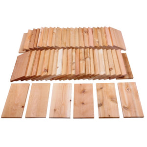 Cedar Grilling Planks 11 in x 5.5 in (44 Pack) RC5GP50
