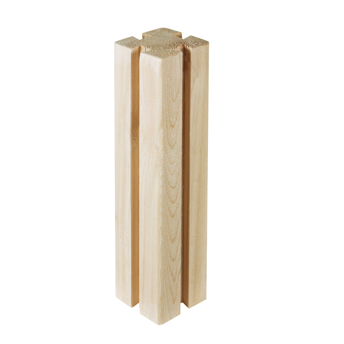 Original Discontinued Cedar Tall Post 11 in x 3 in x 3 in RCT3X3