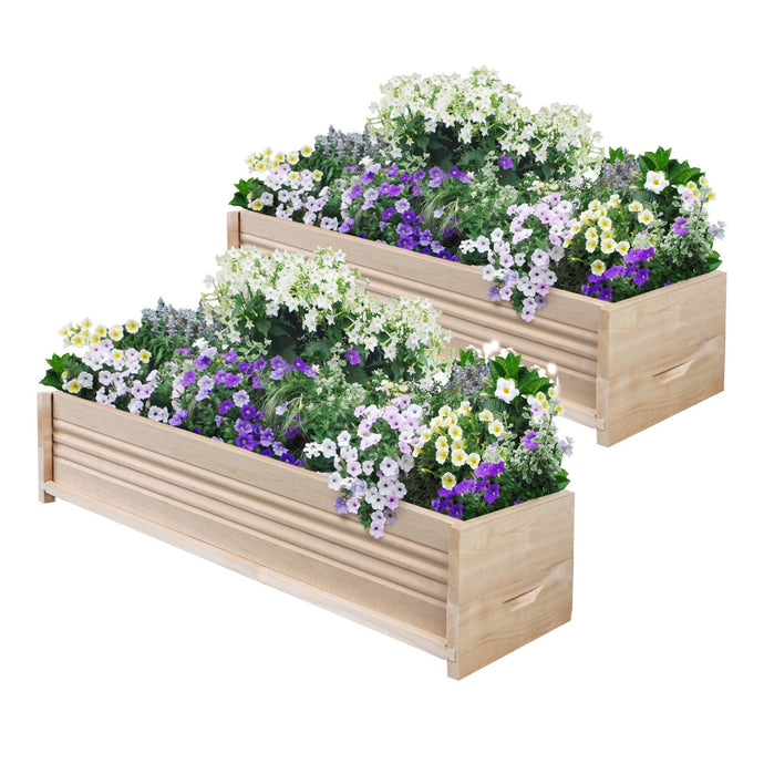 Cedar Planter Box 36 in (2 Pack) RCPB1236X2